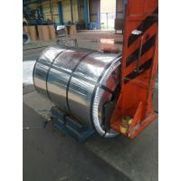 China Hot Dipped Galvanized Steel Coils , GI Silted Steel Coil 0.95 Mm THK X 182mm WD G-550 Z-275 on sale