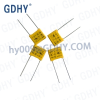 Quality 0.001uf 310VDC X2 Polypropylene Film Capacitor Box Shape Anti-Interference for sale