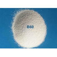 Quality Glass Molds Cleaning Ceramic Blasting Media Zirconium Silicate Beads B60 0.125 - 0.250mm for sale