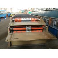 Buy 686 & 762 IBR and Corrugated Profile Roll Forming Machine / Metal Roofing Equipment at wholesale prices