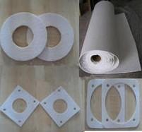 Quality Ceramic fibre gasket ,fiber gasket for sale