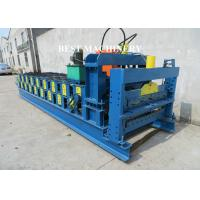 Buy Automatic Corrugated Roof Panel Roll Forming Machine PLC Control System at wholesale prices