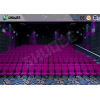 Buy Sound Vibration Cinema 3D Movie Theater System With Shock Effects Seats at wholesale prices
