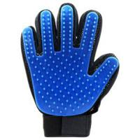 Quality Waterproof Pet Grooming Glove , Comb Dog Glove Hair Removal Carton Packing for sale