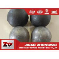 Quality Cement plant use  forged and low chrome cast grinding ball/ steel grinding balls for sale