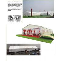 Buy Exhibition Outdoor Event Tent 3m - 30m Width With PVC Walls / Glass Wall at wholesale prices