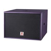 club subwoofer single 18'' 800W RMS purple color bass professional loudspeaker system power speaker box for sale