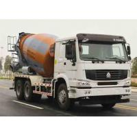 Quality ZOOMLION-HOWO Used Concrete Mixer Truck Euro III Emission 11005x2496x3900mm for sale