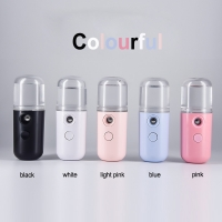 Quality USB Rechargeable Nano Handy Mist Sprayer, professional automatic facial steamers for sale