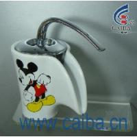 Quality Polished Ceramic Basin Faucet (CB-23001) for sale