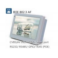 Quality Employee Time Attendance POE Touch Panel PC , NFC 7 Inch Android POE Tablet for sale
