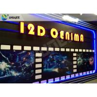 Quality SGS Dynamic 12D Cinema XD Simulator With 3 DOF Chairs / Motion Chair System for sale
