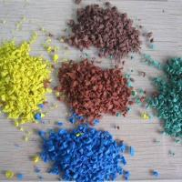 Quality EPDM Rubber Granules, Wet Pour Surfacing, 1.32 to 1.35 Density for sale