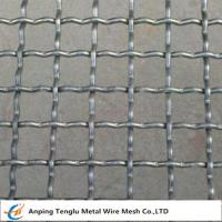 Quality Intermediate Crimped Wire Mesh|SS304 Intercrimp Woven Mesh For Construction for sale