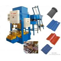 China Cement Tiles Making Machine , Fully Automatic Color Concrete Roof Tile Making Machine on sale