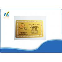 Buy Standard 86*54 cm Professional Sublimation Metal Cards For Social Business at wholesale prices