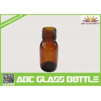 Buy 30ml Amber Glass Bottle For Syrup With Din28 Neck at wholesale prices
