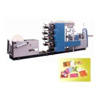 Quality Full-Automatic Multi-colors Napkin Paper Machine for sale