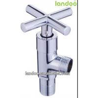 Quality 2014 good price Angle Valve brass angle valve chrome Plated for sale