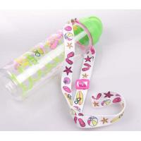 Quality Good quality flat polyester sublimation printing wine glass holder lanyard for sale