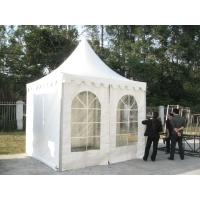 Buy White PVC Outdoor Exhibition Tent , Heat Resistant Marquee Party Tent UV Protection at wholesale prices
