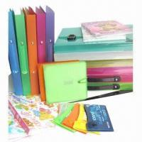Quality Plastic file folders, available in A4 size for sale