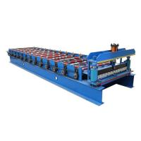 Buy cheap 1050 Coated Steel Sheet Making Machine Wall Panel And Roof Forming Machine from wholesalers