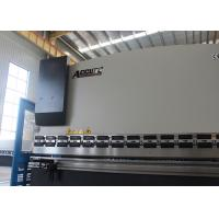 Quality Horizontal 400 Ton Press Brake , 4 Ft Press Brake Equipment With Stock Counter for sale