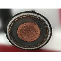 China Medium voltage 24kv XLPE underground steel wire armored SWA power cable on sale