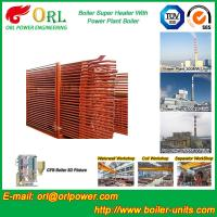 Quality Convection Superheater Coils Steam Super Heater In Boiler Anti Corrosion for sale