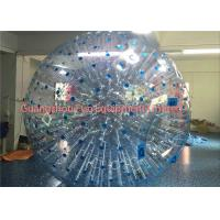 Quality Giant Clear Inflatable Human Sized Hamster Ball Zorbing Water Walking For Playground for sale