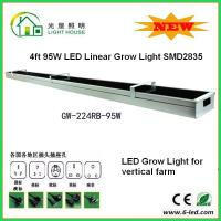 Buy cheap Garden SMD LED Tube Grow Lights 1200mm With Good Heat Dissopation , CE ROHS Listed from wholesalers