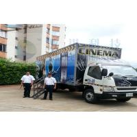 Quality Columbia Mobile 5D Cinema , Exiciting Car Cinema Snow Simulation for sale