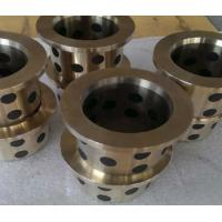 Buy Plugged Carbon Graphite Bushings Self Lubricating Long Life High Speed at wholesale prices