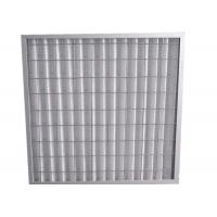Buy Indoor Residential Pleated Panel Air Filters For Clean Room , High Dust Capacity at wholesale prices