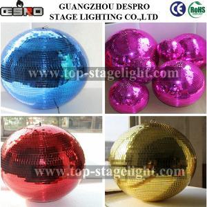 Quality Disco Rotating big Mirror Ball dJ party light for sale