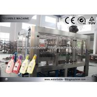 China 6.5Kw Electric Gravity Beer Filling Machine Glass Bottle Rinsing Machine on sale
