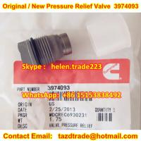 Buy BOSCH cummins Original and New Pressure Relief Valve 3974093 / 1110010028 Limited control at wholesale prices