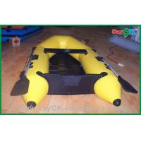 Quality Heat Sealed Customized 0.9MM PVC Inflatable Boats , Rigid Inflatable Boat for sale