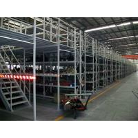 Buy Adjustable Multi - Layer Mezzanine Storage Systems Pallet Gate Mezzanine Floors at wholesale prices