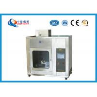 Quality IEC 60695 Stainless Steel Needle Flame Testing Equipment / Pin Flame Test Chamber for sale
