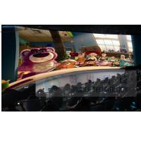Quality 4D Movie Theater With High Definition 3D Image / 7.1 Audio System for sale