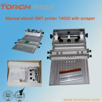 Quality Manual High precision cheap solder paste Screen Printer T4030+ for SMT production for sale