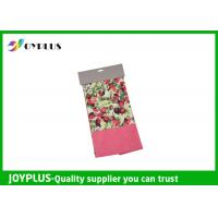 Quality Non Woven Microfiber Cleaning Cloth Wth Printed Pattern Customized Color / Size for sale