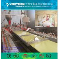 Quality 300mm pvc wall panel making machine with turnkey solutions for sale