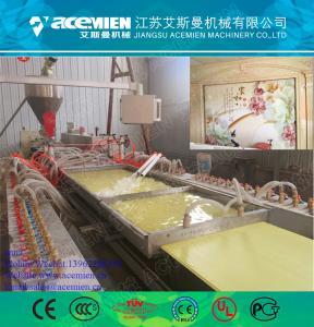 Quality Plastic pvc profile machine/wood plastic composite for sale