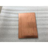 Buy Lightweight Copper Composite Panel 600mm Width Fire Resistance With High at wholesale prices