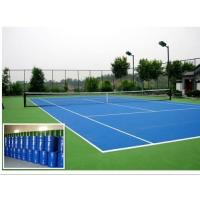Quality Portable Outdoor Basketball Court Flooring , Anti Slip Synthetic Basketball Flooring for sale