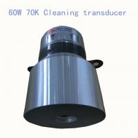 Quality 60 W 70K High Frequency Ultrasonic Transducer , Ultrasonic Cleaning Transducer And Sensor for sale