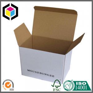 Quality Black Logo Print Color Carton Packaging Box; Tuck Top E Flute Carton Box for sale